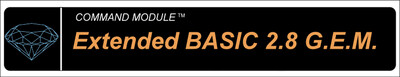 Extended Basic 2.8 GEM