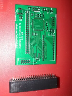 tipi sidecar pcboard with side-port connector