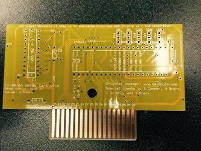 PCB Fetzner 2048 ROM cartridge board (bare)