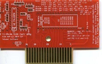 PCB Fetzner 512k ROM cartridge board (bare)