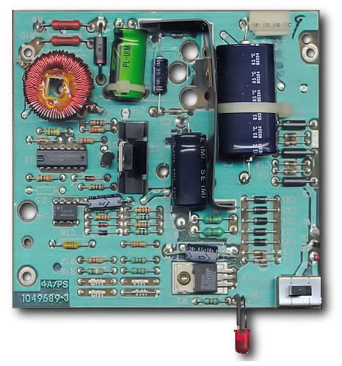 Ti-994a internal power supply