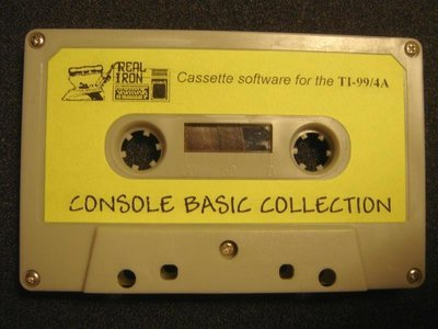 Real Iron - CONSOLE BASIC COLLECTION cassette