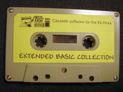 Real Iron - EXTENDED BASIC COLLECTION  cassette