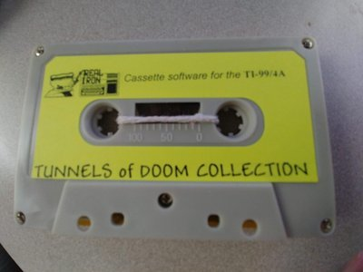 Real Iron - TUNNELS OF DOOM COLLECTION cassette