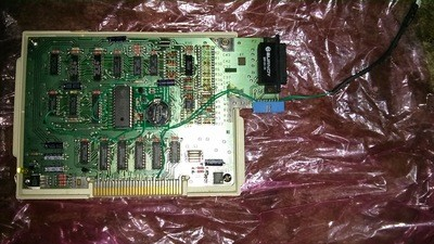 Texas Instruments RS232 Card with HDX modification installed