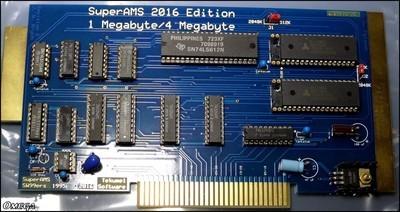 Fetzner 1mb SAMS memory board