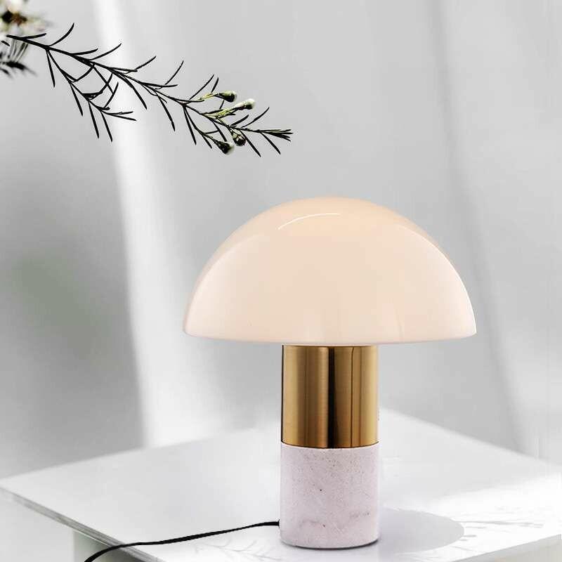 MUSH MARBLE TABLE LAMP