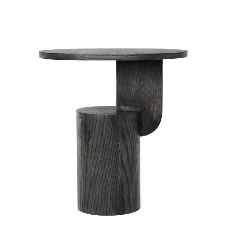 GEO WOOD SIDE TABLE