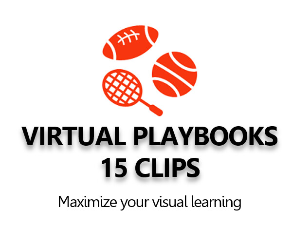 Virtual Playbook  of 15 animated 3D virtual stadium clips.