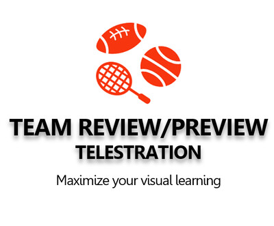 Team Review/Preview Telestration 10 clips
