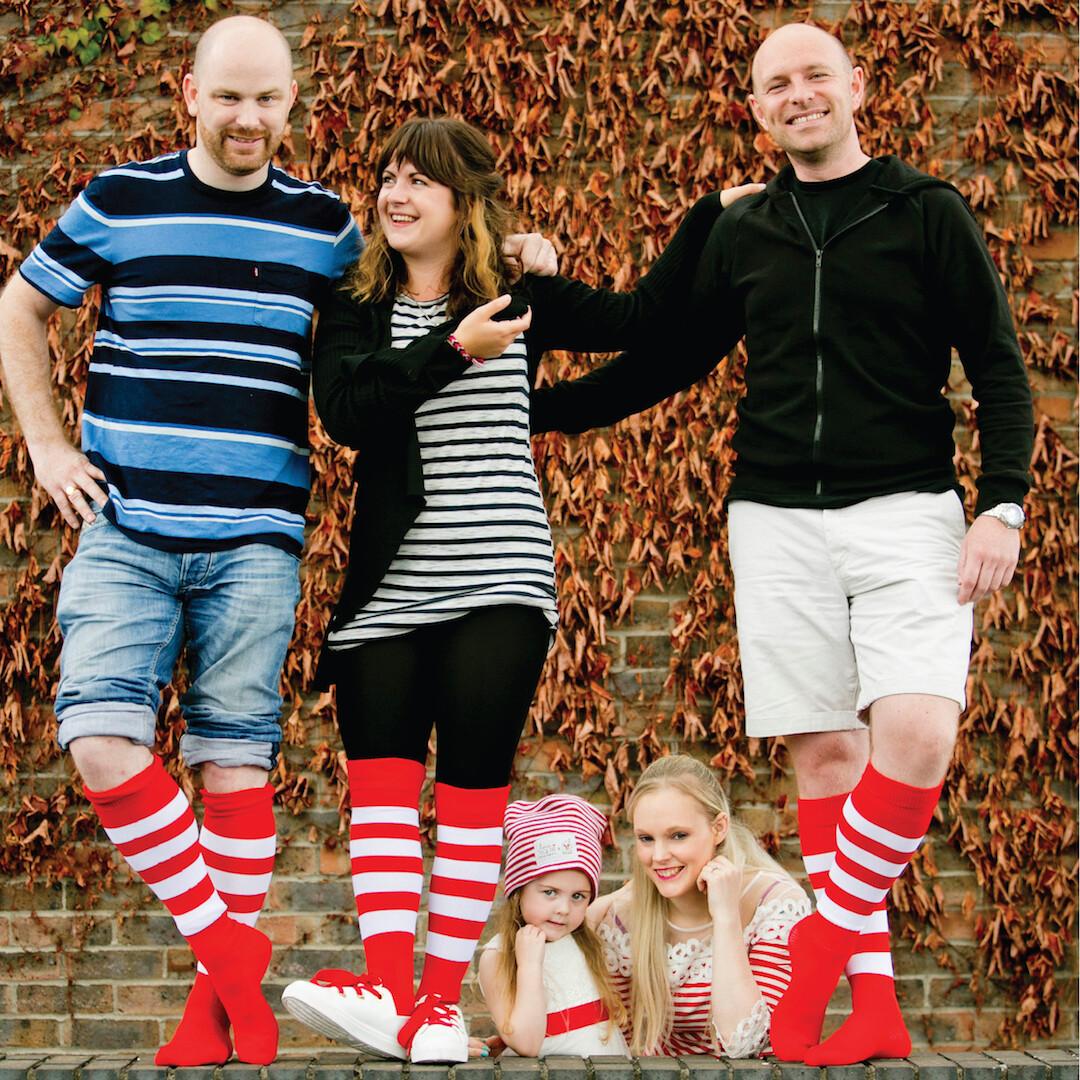 RMHC Stripey Socks