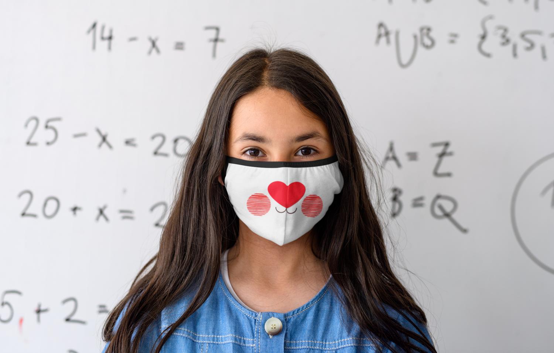Free Delivery- Children's Barróg Reusable Face Masks- Pack of 3