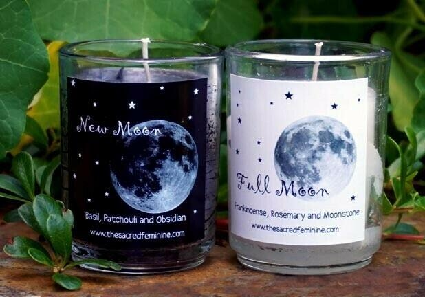 Moon Ritual Candles