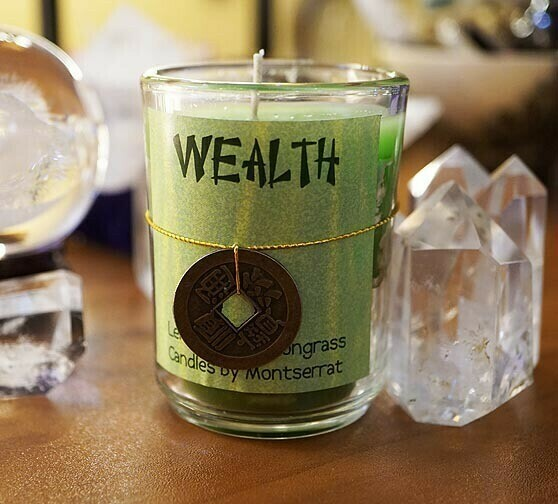 Wealth Candle