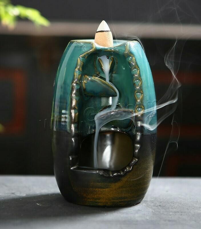 Waterfall Incense Burner