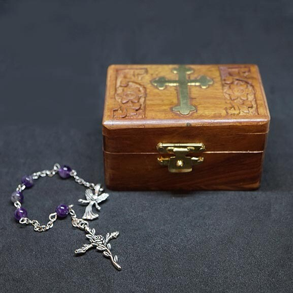 Amethyst Chaplet with Box