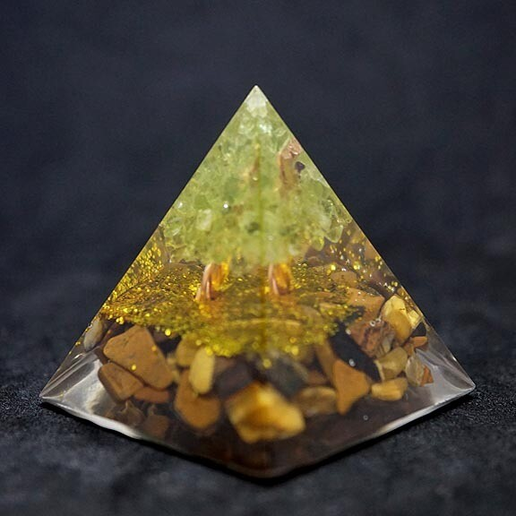 Orgone Pyramid with Tree of Life