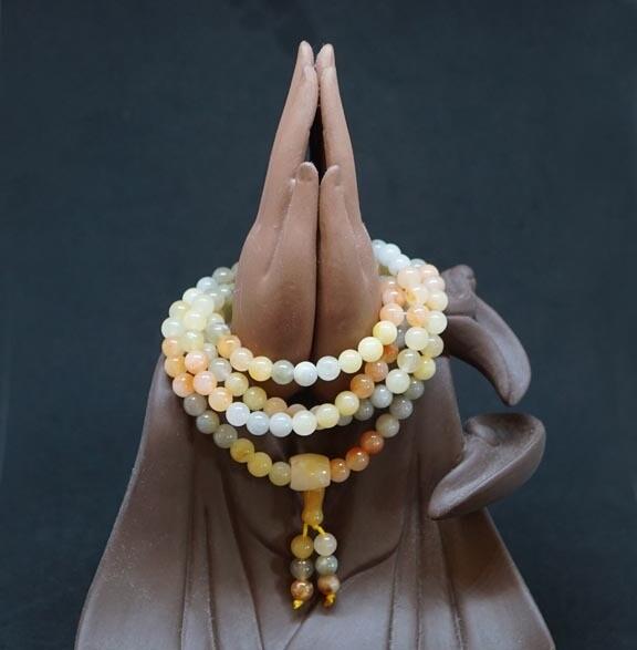 Imperial Jade Prayer Beads