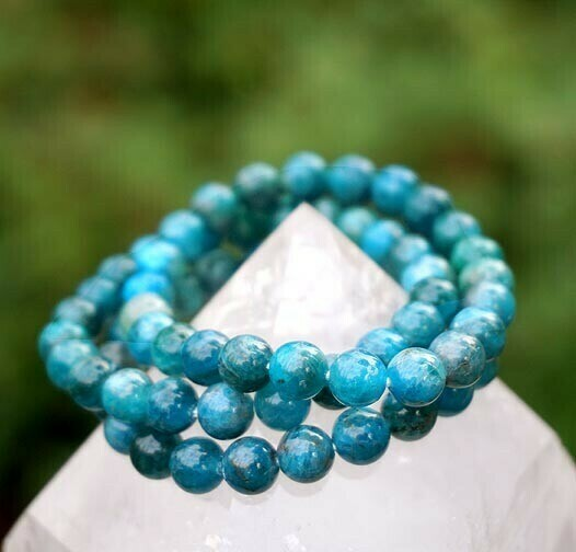 Blue Apatite Bracelets