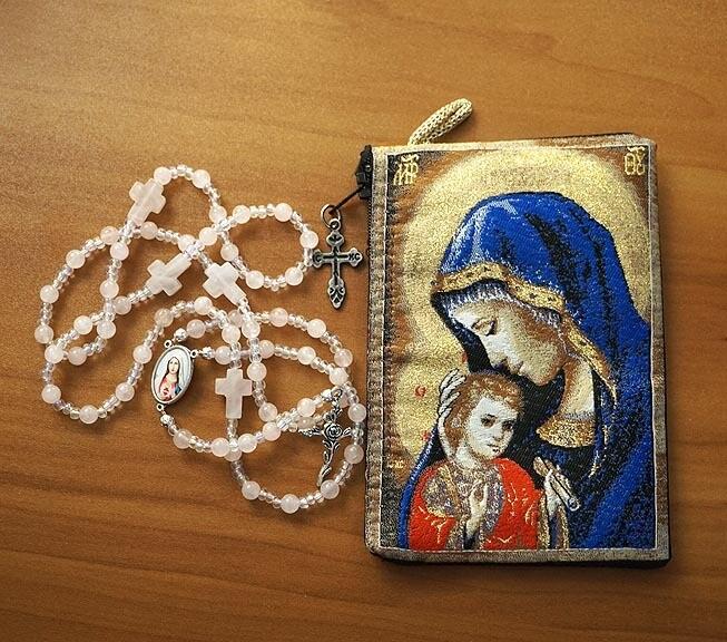 Hand Made Rose Quartz Rosary