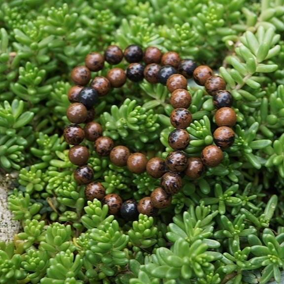 Mahogany Obsidian Bracelets