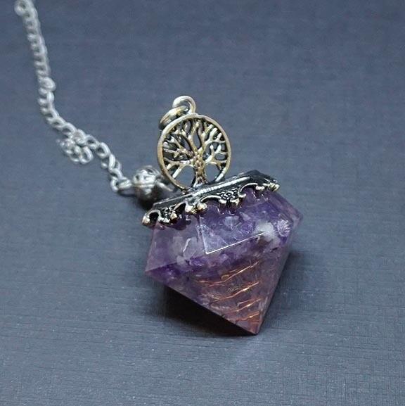 Diamond Orgone Pendulum