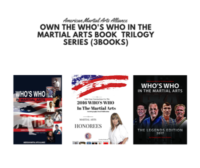 Own the Who's Who in the Martial arts Book  Trilogy Series ( 3Books)