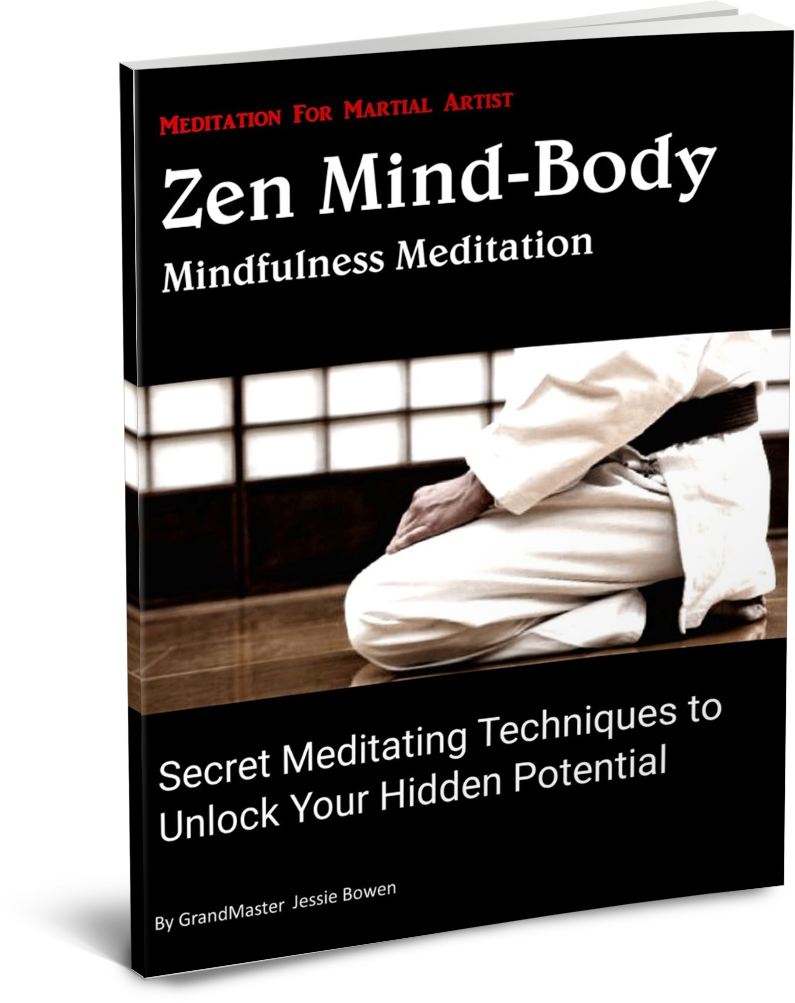 Zen Mind-Body Meditation for Martial arts Book & Audio Meditation Program Special