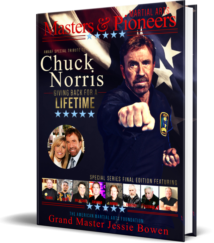 Martial Arts Masters & Pioneers Volume 3 Hardcover - Tribute to GM Chuck Norris