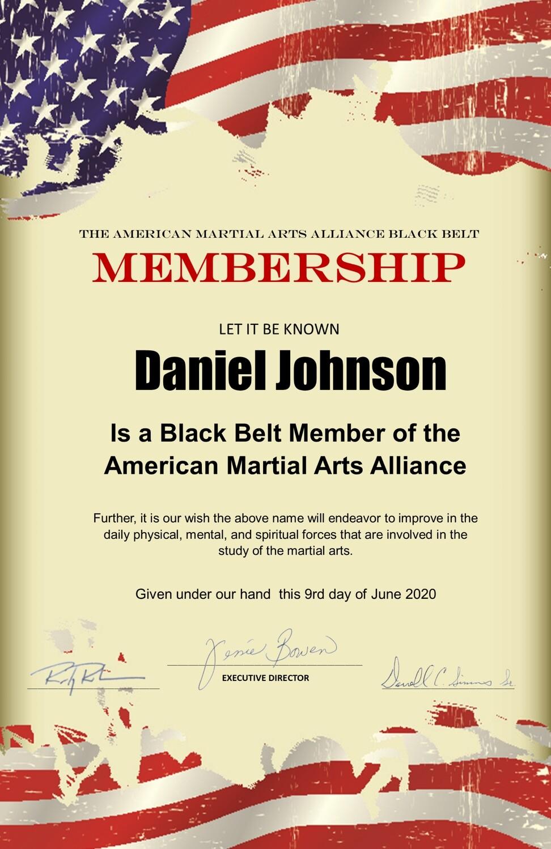Black Belt Lifetime Memberships