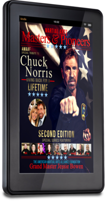 Digital e-Book Download Martial Arts Masters & Pioneers Volume 3 2nd Edition - Tribute to GM Chuck Norris
