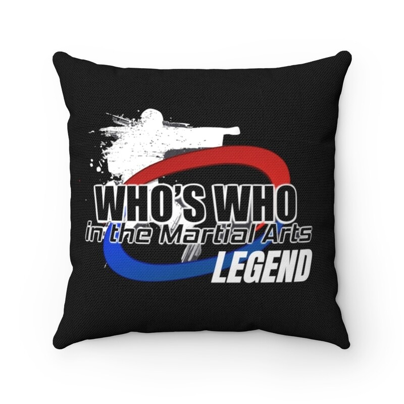 Legends & Inductee Spun Polyester Square Pillow