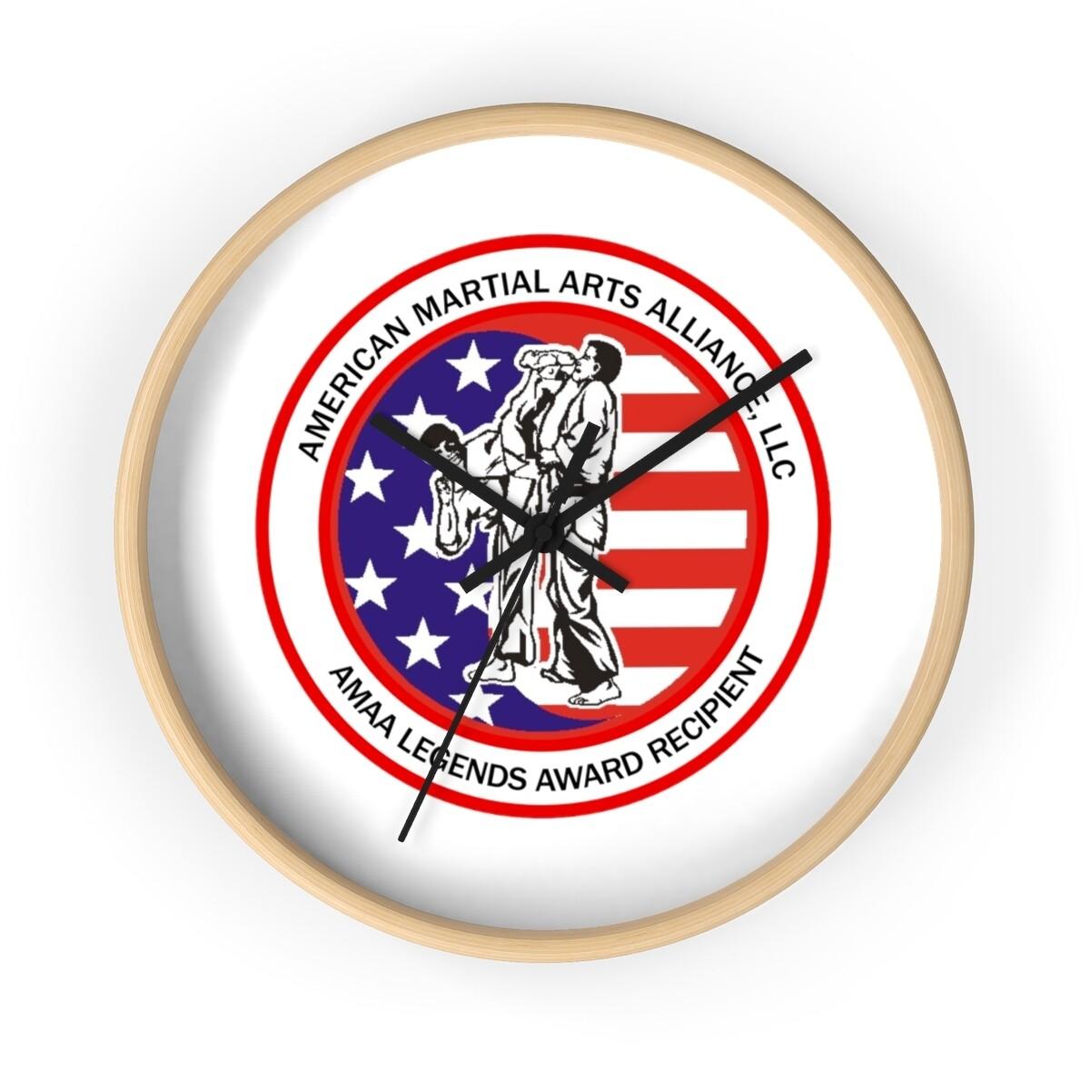 AMAA Inductee Wall clock