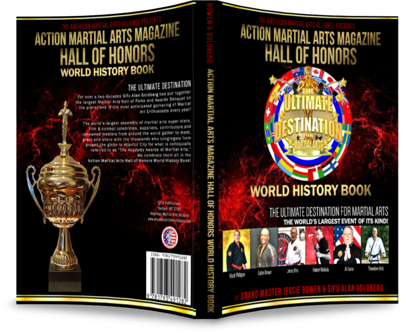 ACTION MARTIAL ARTS MAGAZINE HALL OF HONORS WORLD HISTORY BOOK: