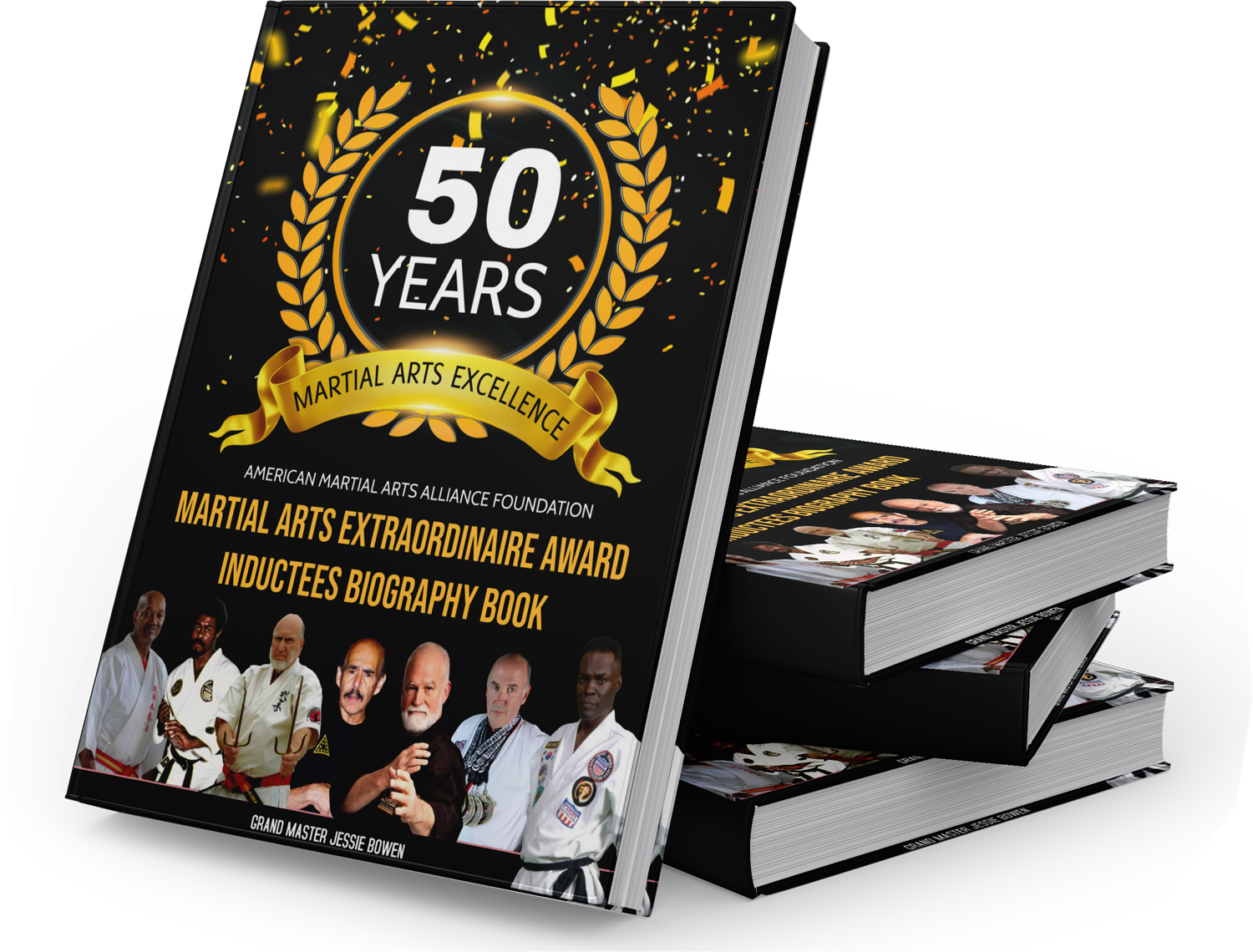 Limited Edition Martial Arts Extraordinaire Biography Book