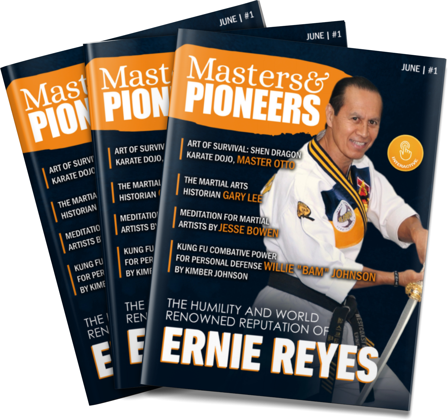 Masters and Pioneers Magazine #1 - Print Copy