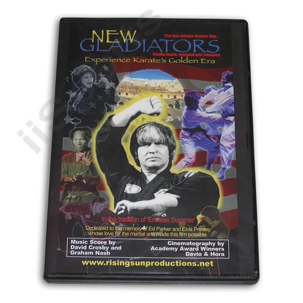 NEW GLADIATORS GOLDEN ERA KARATE DOCUMENTARY DVD