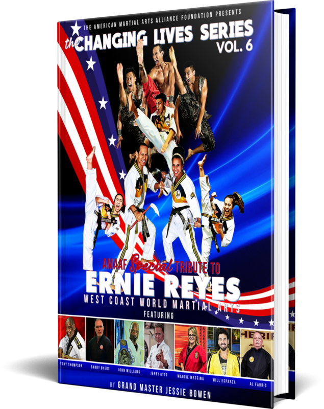 Pre-Sale Ernie Reyes Edition of the Martial Arts Changing Lives Series: Special Tribute to Ernie Reyes Biography Book