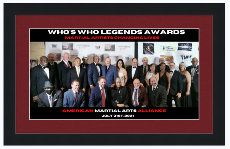 American Martial Arts Alliance 2021 Changing Lives group photo