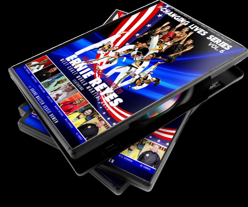 Ernie Reyes & Ron Van Clief Tribute DVD