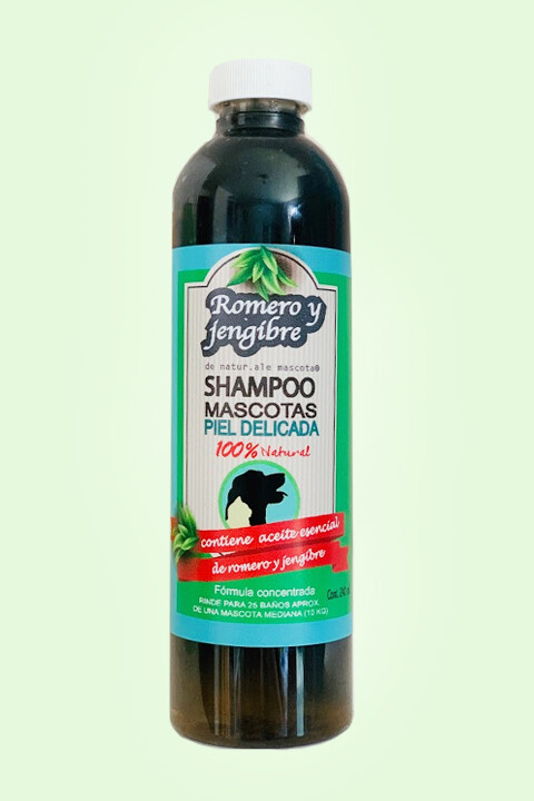 Shampoo Dextox/ Carbón activado-romero/ 240 ml.