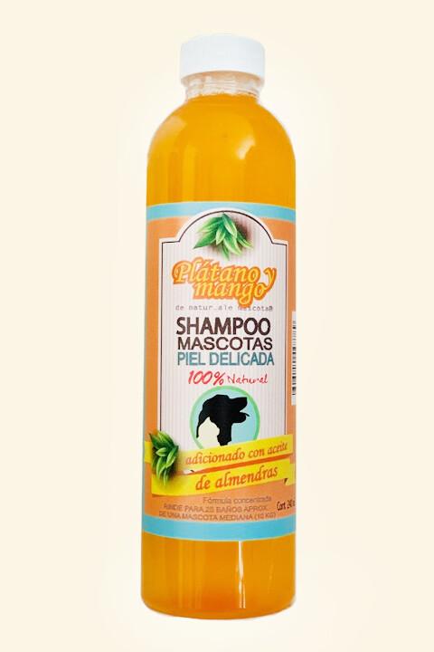 Shampoo equilibrante / Plátano-mango/ 240 ml.