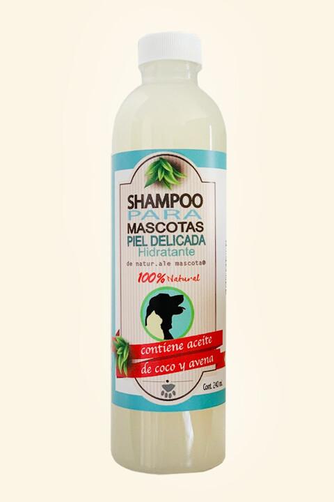 Shampoo para piel normal a delicada-sensible/ Avena-Coco-Almendra/ 240 ml.