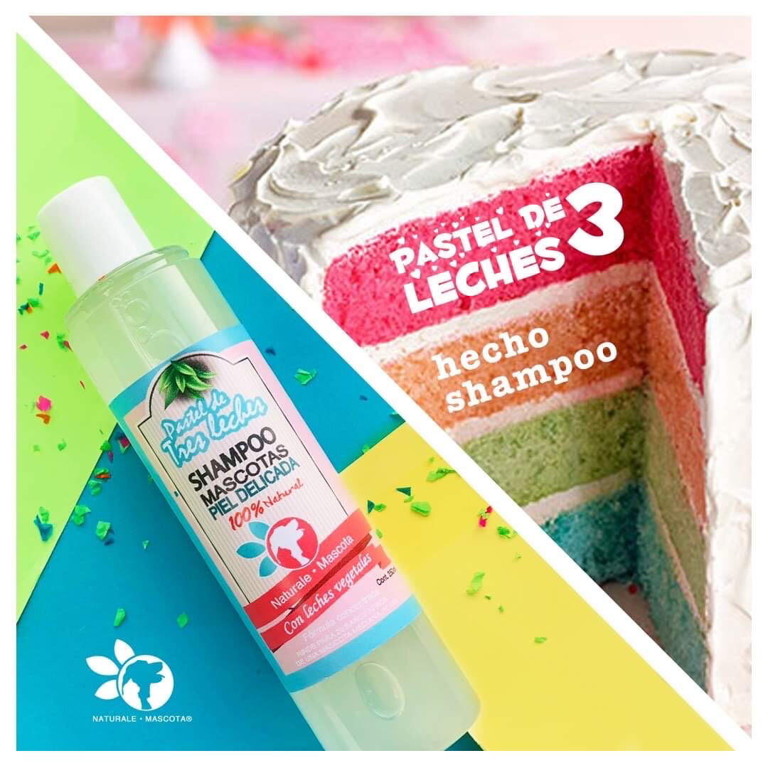 Shampoo Pastel de 3 leches