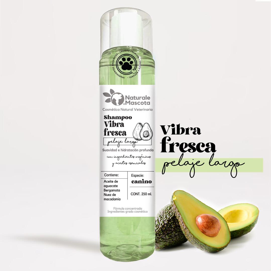Shampoo Vibra fresca (aguacate-nuez)