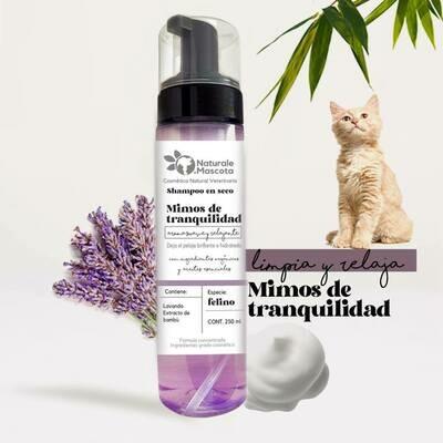 Shampoo en seco para gato