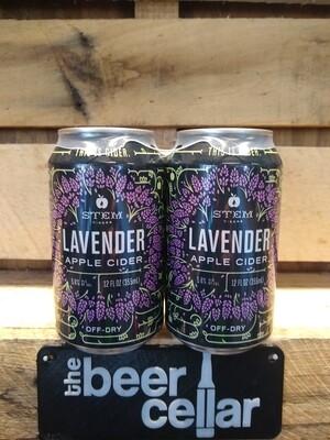Stem Lavender Cider 4pk
