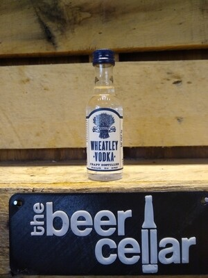 Wheatley Vodka 50mL mini bottles