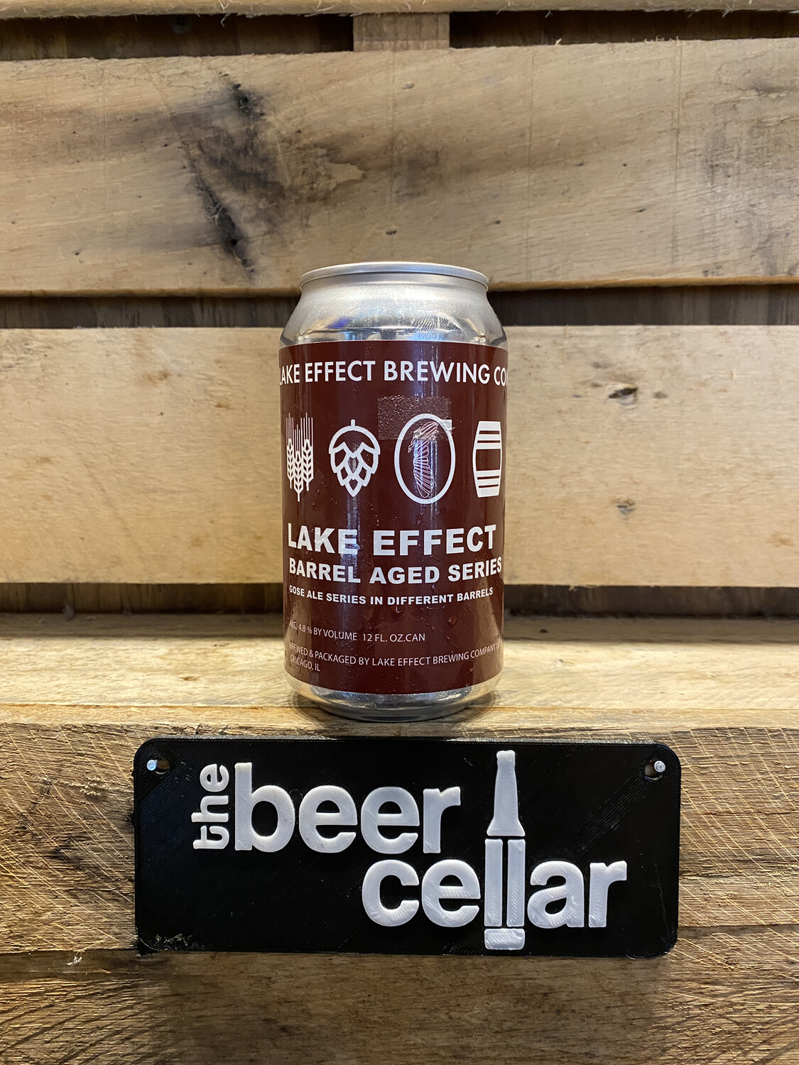 Lake Effect Port Barrel Aged Gose single 12oz can