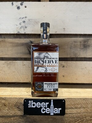Union Horse Reserve Straight Bourbon Whiskey (Second City Single Barrel Pick) 750mL